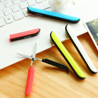 Color Cutter Scissors Pen Shape Clipper with Safety Cover Office School Supply