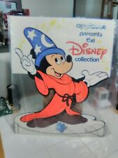 New listing Vtg Disney Sorcerer Mickey Mouse Applause Store Display 2 Sided Sign 1986