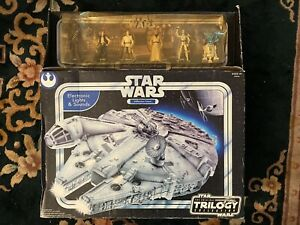 Star Wars Millennium Falcon OTC Trilogy Collection, Sam's Club 6 Figures, New