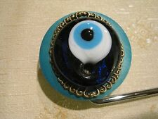 "Jeweled Cupcake Tabletop Bag Hanger ""I C U"", Signed, Numbered, COA"