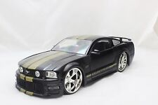 JADA 2006 FORD MUSTANG GT BLACK 1/24 DIECAST CAR NEW WITHOUT BOX