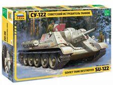 Zvezda 3691 1:35 SU-122 Soviet self propelled gun WWII