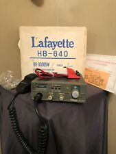 Vintage Lafayette HB-640 PA CB Radio Mobile 40 Channel w/ Original Box