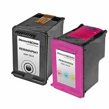 2 BLACK COLOR CC641WN Ink Cartridge 60XL 60 XL for HP Deskjet F4280 D1660 F4480