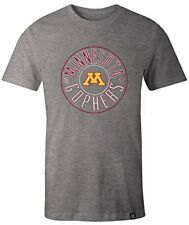 Image One Ncaa Minnesota Golden Gophers Adult Ncaa Circles Everyday Short Sle.