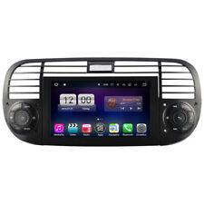 Fiat 500 Autoradio Android 10 GPS 3D Navi Touchscreen DVD Bluetooth WIFI USB SD