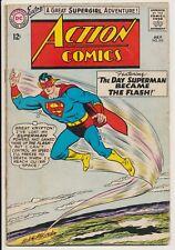 Action Comics #314 DC Comics 1964 Superman, JLA x-over, Supergirl Origin Retold