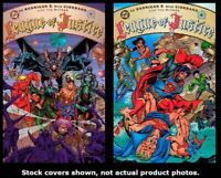 League of Justice 1 2 DC 1995 Complete Set Run Lot 1-2 VF/NM