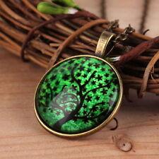 Unbranded Glass Round Bronze Costume Necklaces & Pendants
