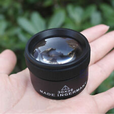 Optical Magnifier Magnifying Glass Lens Loupe Microscope for Jewelry 30x36mm AU