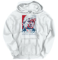 Make America Great Again Donald Trump Shirt USA Election Gift Zip Hoodie