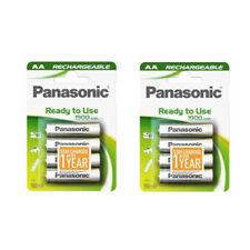 8 X Panasonic AA Batterie Rechargeable 1900 mAh Ready to Use HR06 LR6 NiMH MN1500