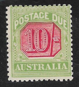 Australia sg D72 mounted mint cat £250 in 2015