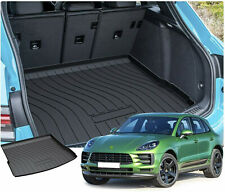 Cargo Tray Trunk Liner Car Floor Mats Black Carpets for 2015-2018 Porsche Macan