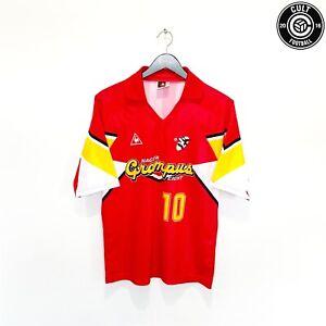 1992/94 LINEKER #10 Grampus Eight le coq sportif Home Football Shirt (M)