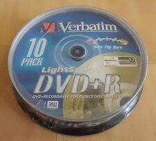 Lightscribe Rohlinge Verbatim 10 Stück auf Spindel DVD+R 4,7 GB