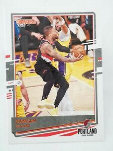 Panini Donruss 2020-21 N18 NBA trading card base #28 Blazers Damian Lillard