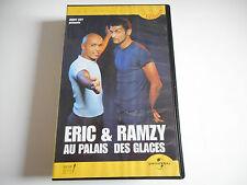 K7 VHS / CASSETTE VIDEO - ERIC & RAMZY AU PALAIS DES GLACES