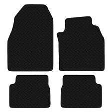 Saab 9-3 (93) 2003 to 2014 Black Floor Tailored 3mm Rubber Car Mats