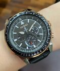 SSC611P1 Prospex Solar Chronograph Flightmaster Black Leather Watch <br/> SEIKO, COD, Free Ship, Meet Up, PayPal Accepted