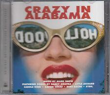 Crazy in Alabama Film Soundtrack CD NEW Mark Snow Carole King Nancy Sinatra