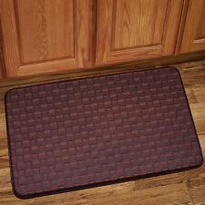 "Memory Foam Anti Fatigue Kitchen Floor Mat Rug 30"" x 18"" - Playa Mocha"