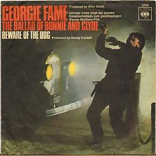 """GEORGIE FAME """"BALLAD OF BONNIE AND CLYDE"""" 60'S SP CBS 3124"""