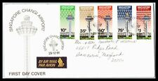 GP GOLDPATH: SINGAPORE COVER 1981 AIR MAIL FIRST DAY COVER _CV284_P15
