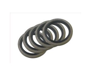 METRIC DOWTY BONDED WASHER METAL RUBBER OIL DRAIN PLUG GASKET 6/8/10/12/14/16mm
