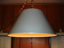 Prescolite Industrial Age Lighting Modern Hanging Lamp Metal Shade Chain NR