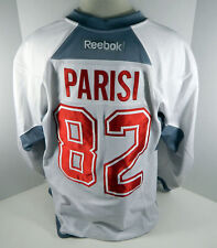 Montreal Canadiens Tom Parisi #82 Game Used White Practice Jersey