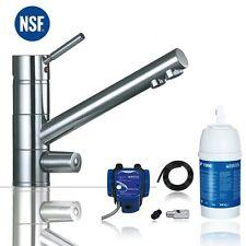 3-Wege-Küchenarmatur Wasserhahn Saturn chrom inkl. BRITA P1000 Wasserfilter