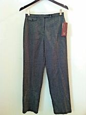 New JM 4 petite Collection magic pant tummy control work trouser gray size 4P