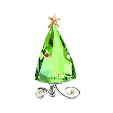 NIB Authentic Swarovski Crystal Fo Winter Christmas Tree Figurine #5155709