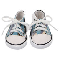 Charming Casual Canvas Shoes for 18inch American Doll Dress Up Kits