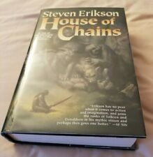 Malazan: House of Chains; Steven Erikson; HC; Signed; 1st Edition/1st Print