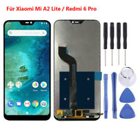 Für Xiaomi Mi A2 Lite / Redmi 6 Pro LCD Display Touchscreen Digitizer Schwarz RH