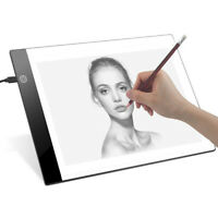LED Tracing Light Box Board Art Tattoo A4 Drawing Pad Table Stencil Display way