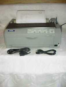 EPSON 24-Pin LQ-590N NETWORK Dot Matrix Printer W/ USB Parallel & Ethernet LQ590