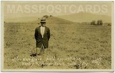 Medford OR Ore RPPC real photo Hanley & Hoover Ranch 1928 rancher?