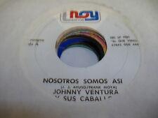 HEAR! Latin Jazz 45 JOHNNY VENTRUA Y SUS CABLLOs Nosotros Somos Asi on Hoy