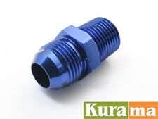 AN-4 to M10x1.25 Straight Car Performance Aluminum Alloy Fittings Adapter 10mm