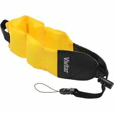 Yellow Strap Vivitar Floating Foam Strap For Panasonic Lumix DMC-TS5 DMC-TS4