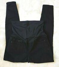 Women's GAP 1969 Maternity Resolution True Skinny Black Jeans Size 30R