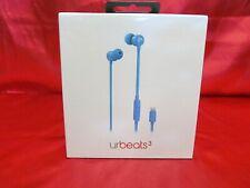 Apple Beats urBeats3 In-Ear Wired Earphones with 3.5 mm Plug Ergonomic, Blue
