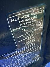All Seasons Gazebos Spa 6 Person Spare LINER ONLY !!!! Blue Colour