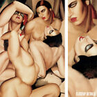 """24W""""x36H"""" GROUPE DE QUATRE NUS by TAMARA DE LEMPICKA Subject: Nudes WOMEN CANVAS"""