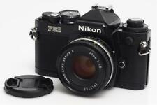 Nikon FE2 Black Paint w.  1.8/50mm Series E #73682