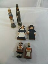 Pilgrim Wooden Figurines for table décor