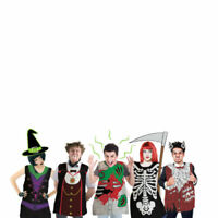 Emergency Outfits Spooky Scary Horror Disposable Party Halloween Costumes Dress